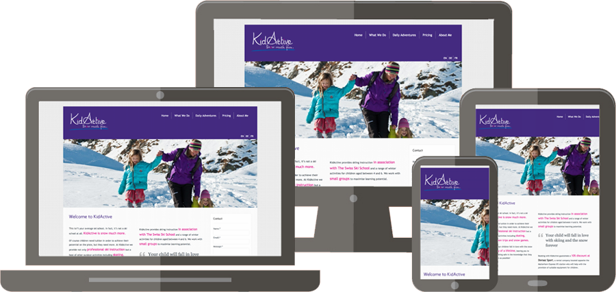 Simple IT Solutions Project - Kid Active Zermatt