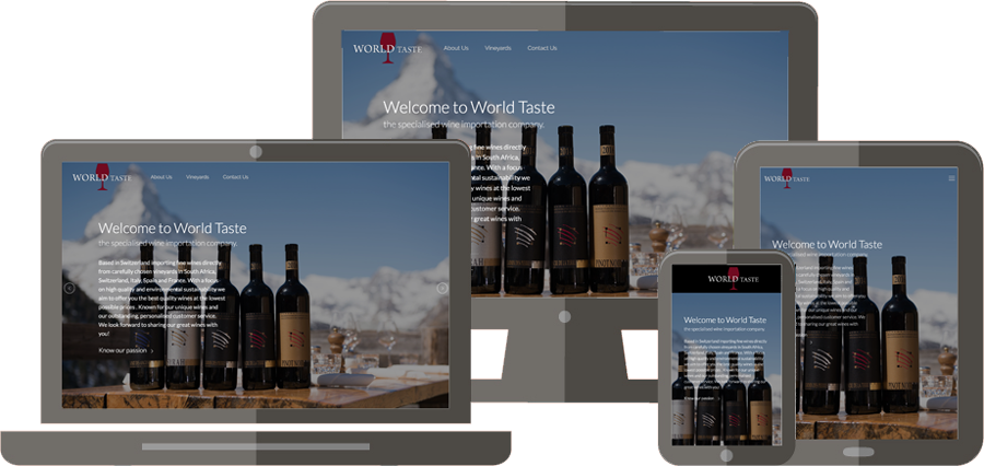 Simple IT Solutions Project - World Taste