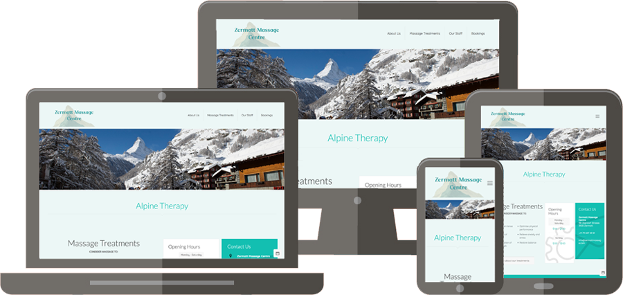 Simple IT Solutions Project - Zermatt Massage